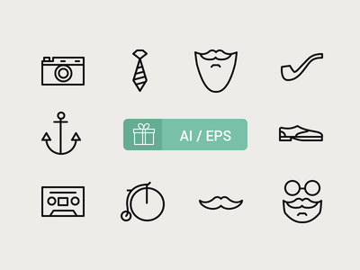 free-hipster-icons_1x